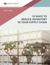 Reduce Inventory in Your Supply Chain